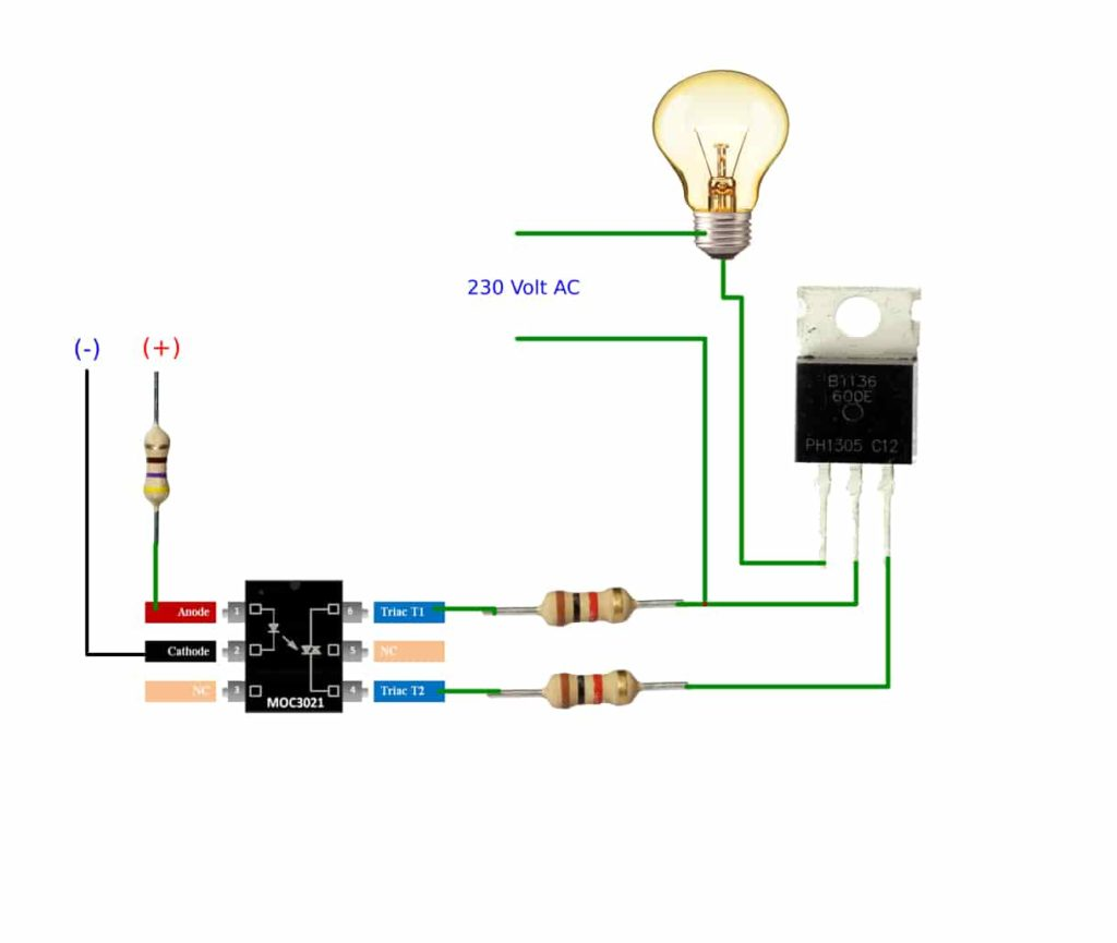 HOW TO MAKE SOLID STATE RELAY